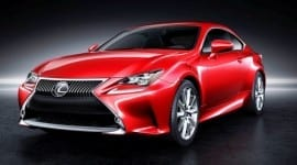 Νέα Lexus RC Coupe