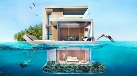 Ονειρεμένες πλωτές βίλες με υποβρύχια υπνοδωμάτια στο Ντουμπάι!