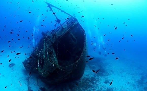 Δέκα ναυάγια στις ελληνικές θάλασσες που αξίζει να δεις!