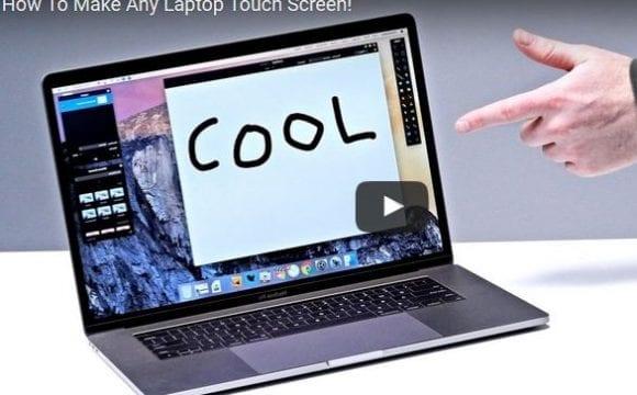 Θα θέλατε πολύ να έχετε οθόνη αφής στο laptop σας; Τώρα μπορείτε!
