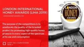 Διεθνή Βραβεία Μελιού Λονδίνου-London International Honey Awards  (LIHA 2019)